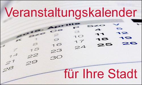 Veranstaltungskalender Glauchau